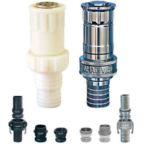 Đầu tưới phun mưa cầm tay dùng trong nông nghiệp JVC 40mm-50mm
