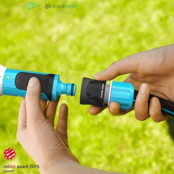 Vòi tưới xoay đa năng 4 chế độ tưới Cellfast Ergo