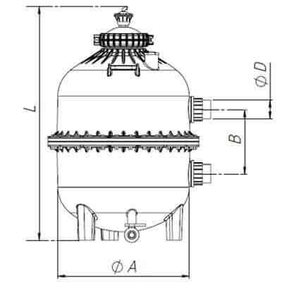 Lọc tách cát hệ thống tưới nhỏ giọt P3030