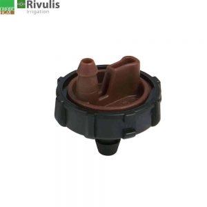 Đầu tưới nhỏ giọt Rivulis Israel E1000 2l màu nâu.