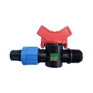 Van ống LDPE 17x21mm ren ngoài