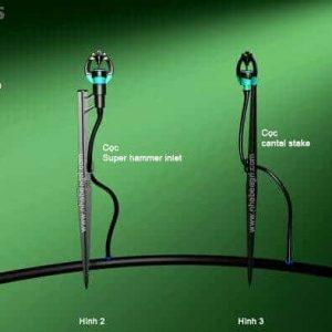 Hình ảnh về bộ Kit S2000 + Cọc Super hammer (hình thứ 2 từ trái sang).