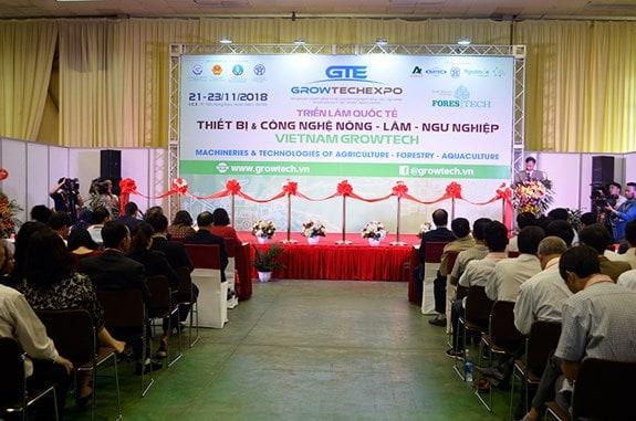 Triển lãm Growtech 2018 tại Hà Nội