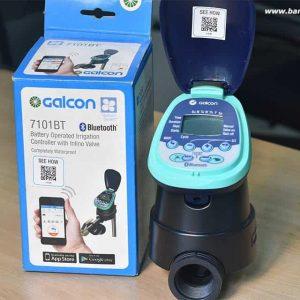 Thiết bị hẹn giờ tưới tự động Galcon điều khiển qua blutooth điện thoại