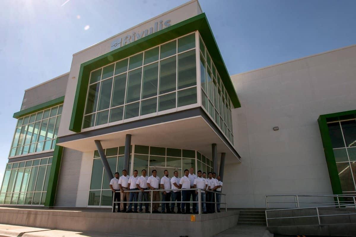 Đội ngũ Rivulis tại nhà máy mới ở Mexico