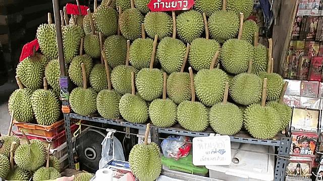 Những quả sầu riêng đặc biệt có giá cao ngất tại Thái Lan