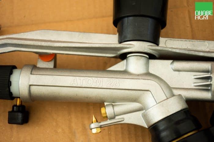 súng tưới ducar atom 28 chính hãng