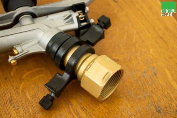 Ren súng Ducar Atom 28 được làm bằng đồng