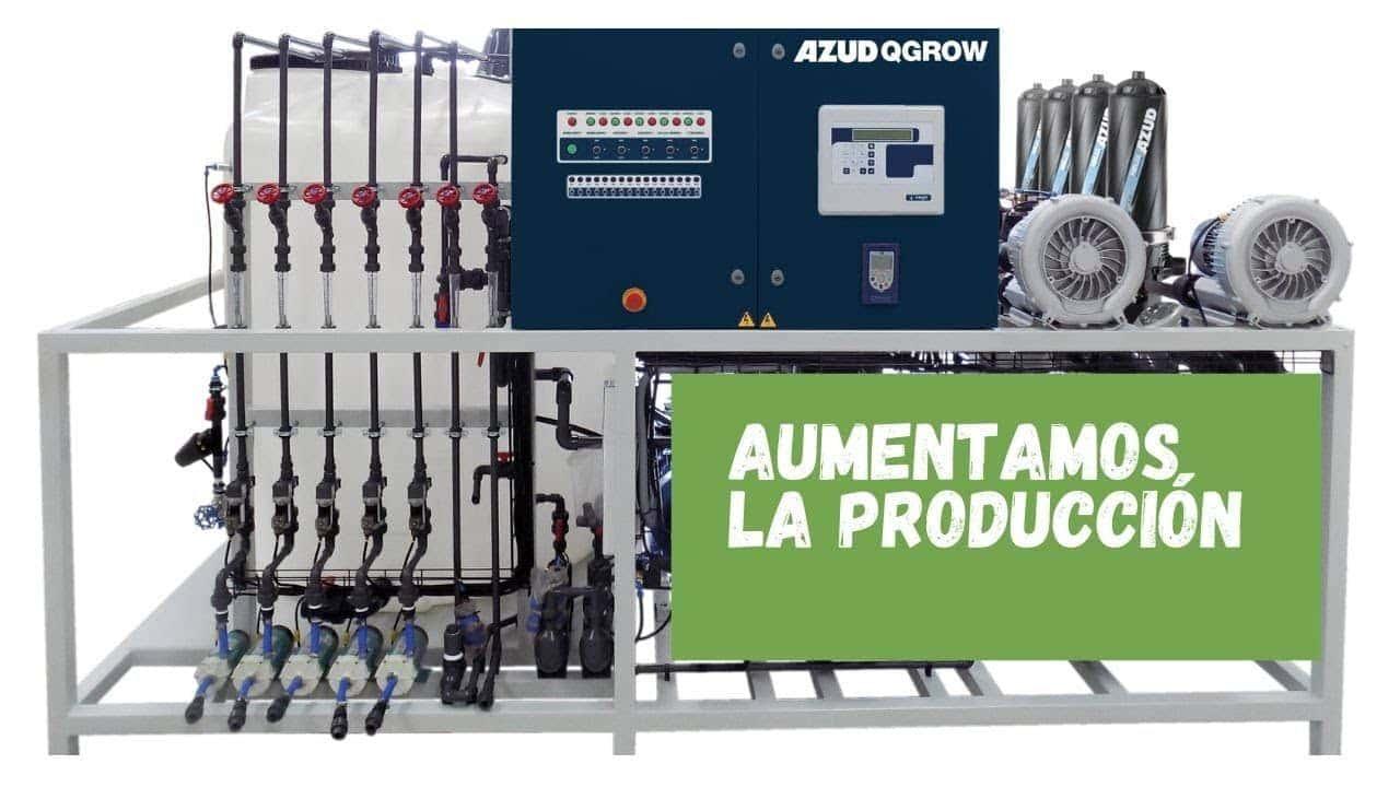 Hệ thống điều khiển hệ thống tưới tự động Azud Qgrow